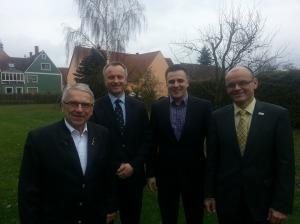 Klaus Dieter Breitschwert, Jan Helmer, Andreas Schalk, Peter Gallenmüller
